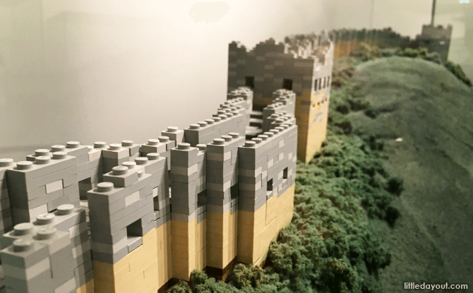 LEGO Replica of The Great Wall of China