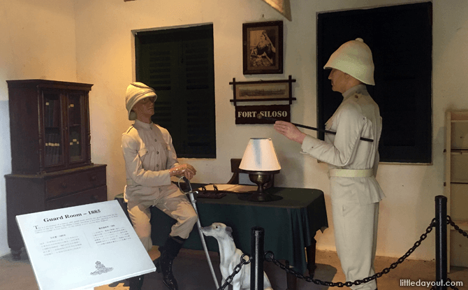 Fort Siloso Guardroom