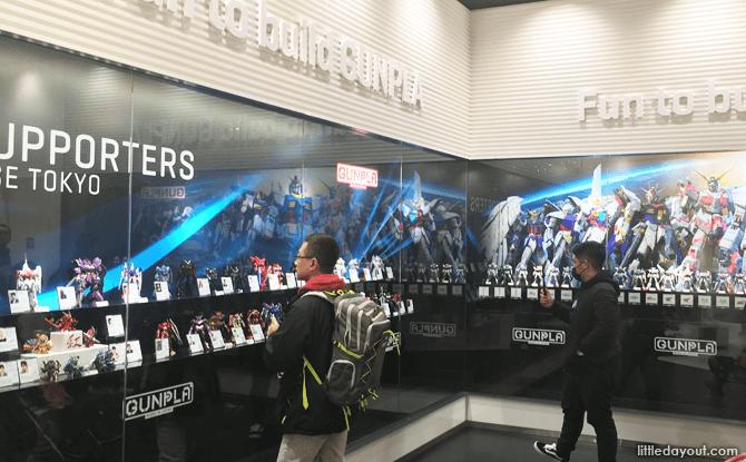 Gundam Base Tokyo Showcase