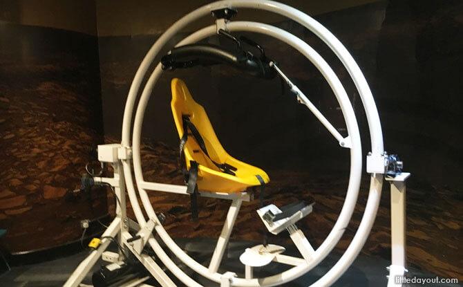 Sit in a Gyroscope!