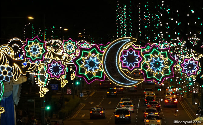 Hari Raya Light Up 2018 in Geylang Serai