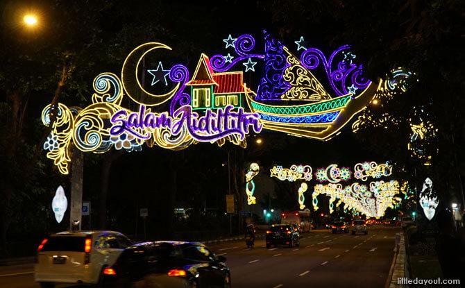 Hari Raya Light Up 2018 Main Arch