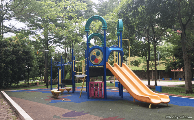 HDB Playground close to Rumah Tinggi Eco Park