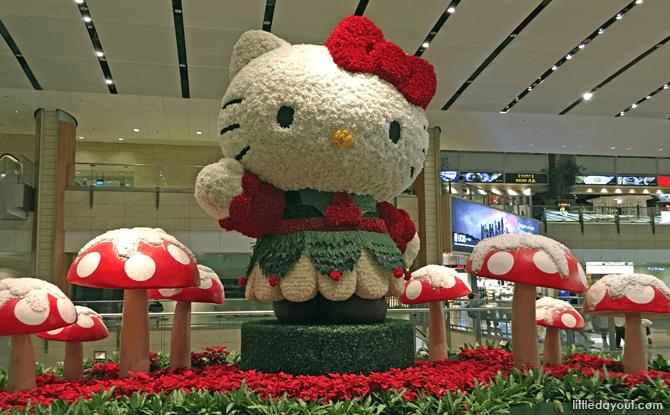 Hello Kitty at Changi Airport Terminal 2, 2017