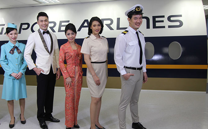 Singapore Airlines' cabin crew uniform