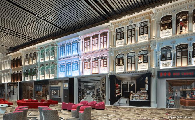 Changi Airport Terminal 4 Heritage Zone