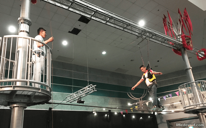 High Wire Exhibit at Science Centre Singapore, 2017