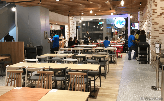 Hokkaido Marche Gourmet Hall, Orchard Central, Singapore
