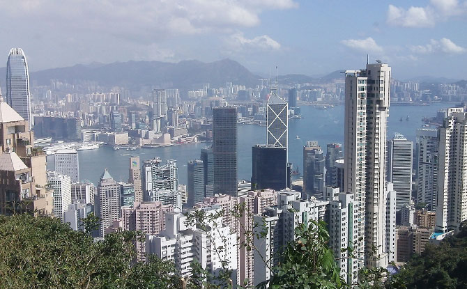 View of Hong Kong, The Peak