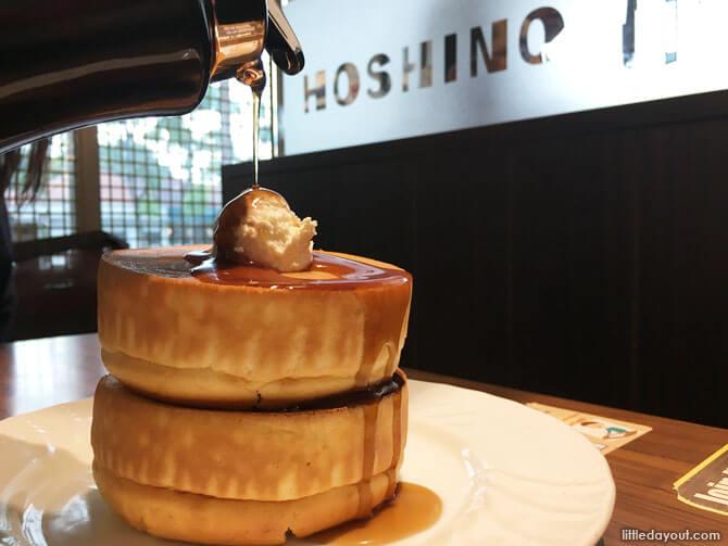 Pancakes at Hoshino Coffee