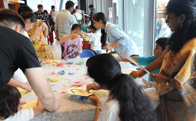 Indian Heritage Centre Deepavali Open House 2017