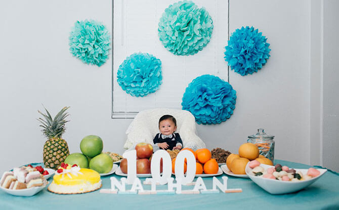 Keeping 100 Day Celebrations & Parties Simple & Memorable