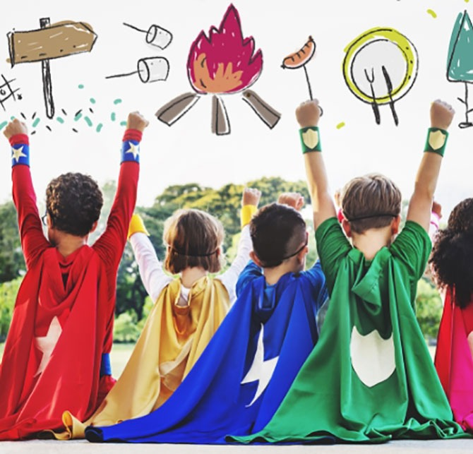 Ray Educators June & July Holiday Camps - Drama - Heroes