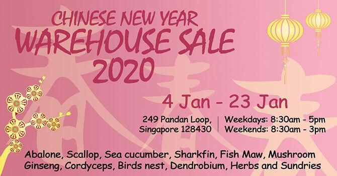 Wing Huat Long CNY Warehouse Sale