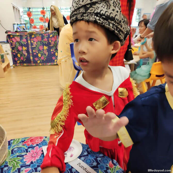 Multi-Cultural Environment at MOE Kindergarten