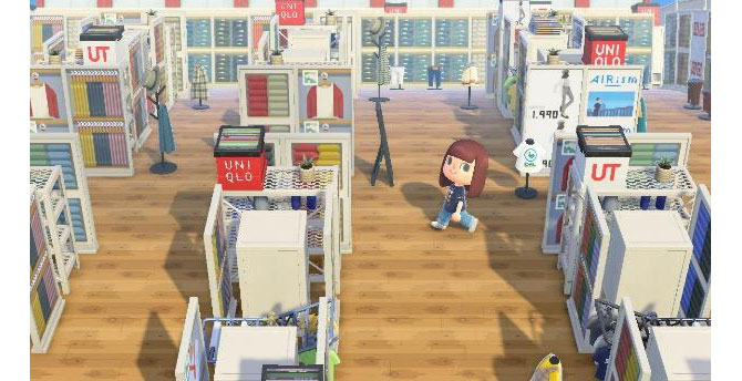 Special Animal Crossing In-Game UNIQLO Content