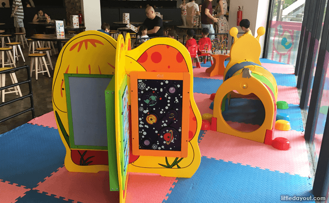 Indoor play area at Fusion Spoon
