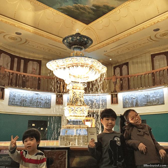 Inside the Ishiya Chocolate Factory Museum
