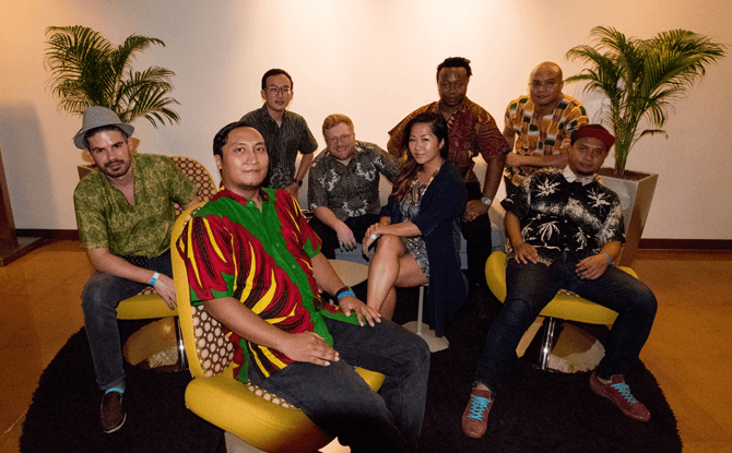 Instigator Afrobeat Orchestra melds Afrobeat with influences from Brazil, the Caribbean and Africa