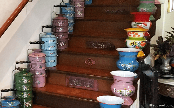 Peranakan objects at The Intan