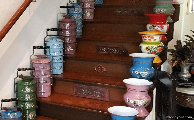 Peranakan objects at The Intan