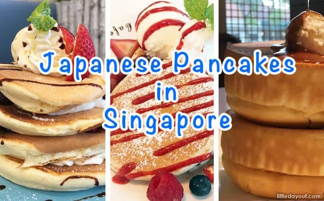 Japanese Pancakes in Singapore