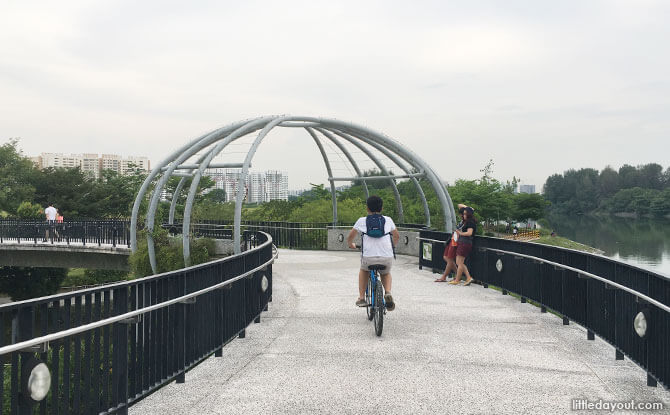 Jewel Bridge, Punggol Waterway
