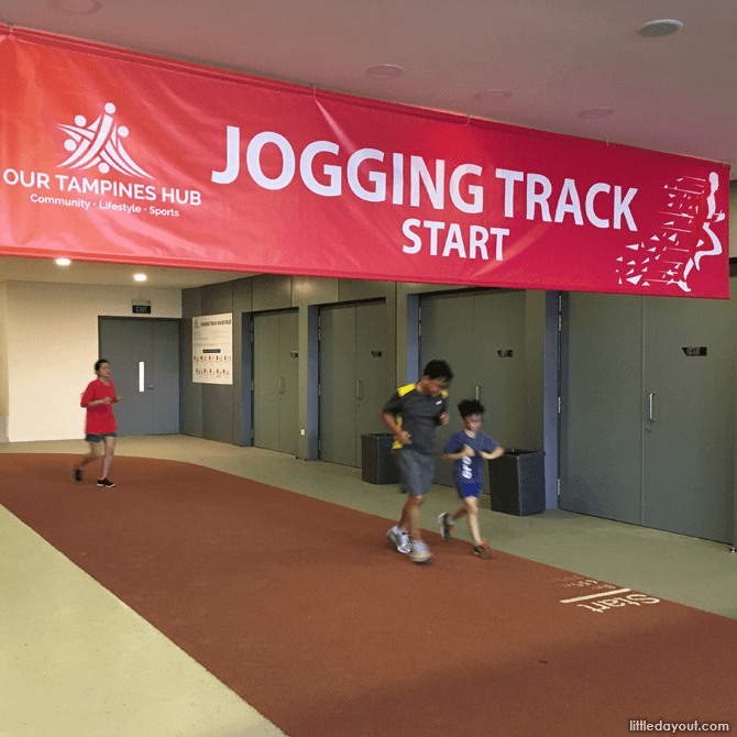 Jogging Track at Our Tampines Hub