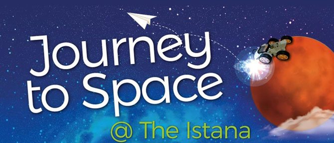 Journey to Space - Labour Day Istana Open House 2019