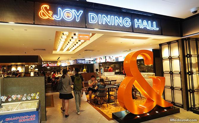 Pittarino at &JOY Dining Hall - Great World City Food