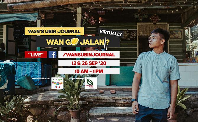 Wan Go Jalan? with Syazwan Majid - Pesta Ubin 2020