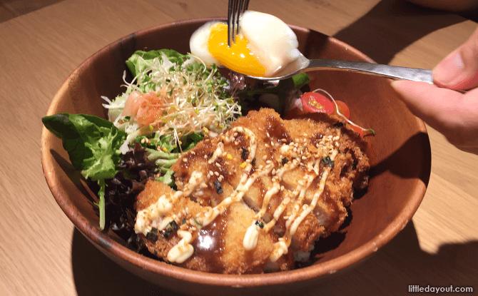 Pork Katsu Donburi, Muji Cafe, Plaza Singapura