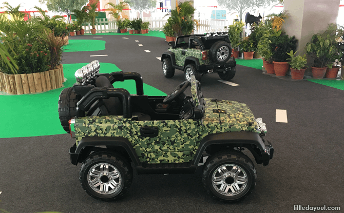Kids Zone, Army Open House 2017