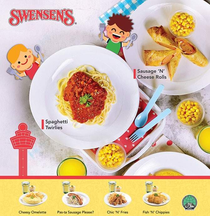 Kids Eat Free at Swensen's T3 in December 2020