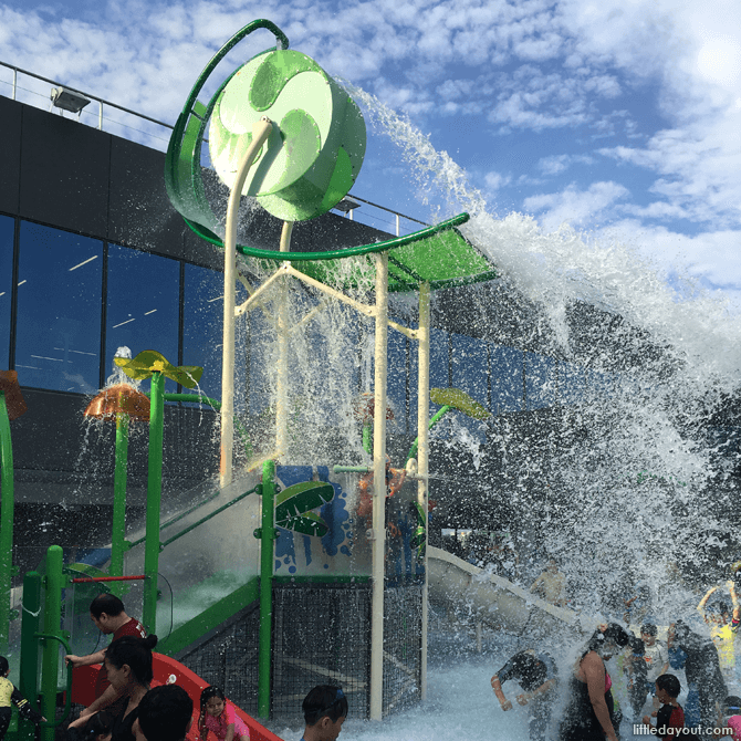 Water Play Area at Our Tampines Hub