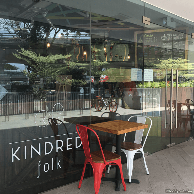 Kindred Folk Ice Cream Cafe at King Albert Park