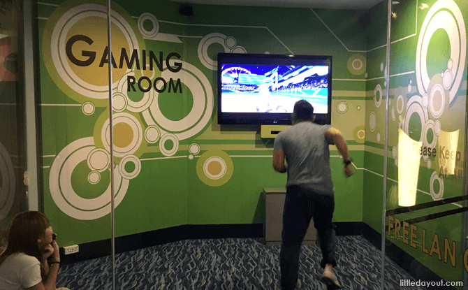 Kinect Sports Room