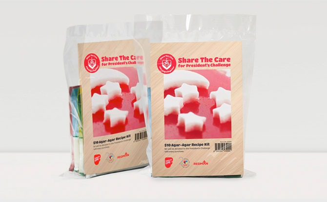 """Special Agar-agar Kits and """"Red and White"""" National Day Desserts"""