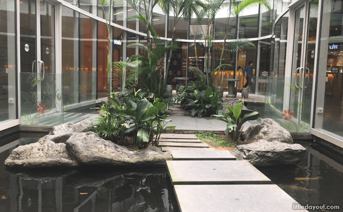 Koi Pond at Changi City Point