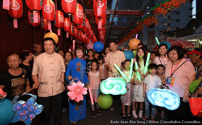Chinatown Mid-Autumn Festival 2017 in Singapore