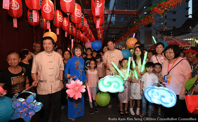 Chinatown Mid-Autumn Festival 2017 in Singapore