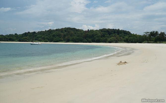 Lazarus Island Beach