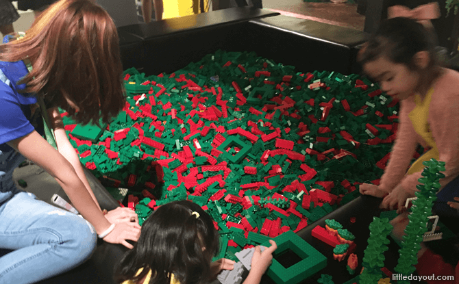 LEGO Pit at the Children's Play Zone