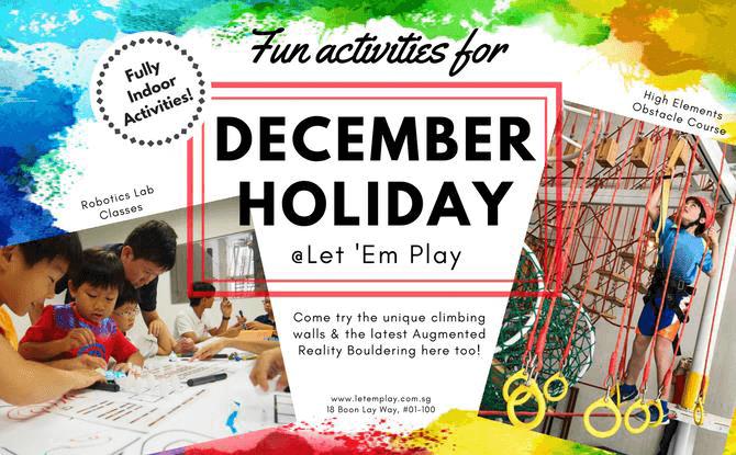 Let 'em Play December Holiday Programme