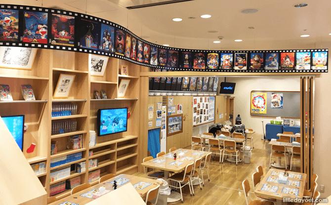 Library and Workshop, Doraemon Sky Park