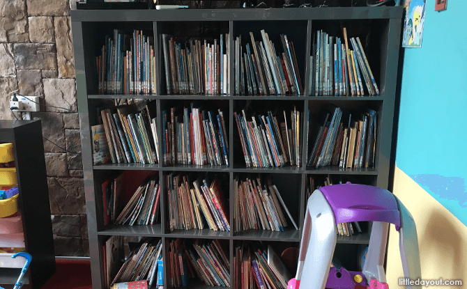 Library at Quentin's Children's Playroom