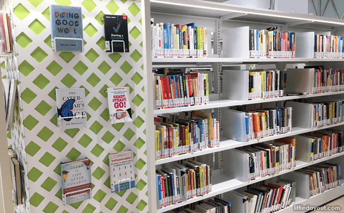 Books at Bedok Public Library at Heartbeat@Bedok
