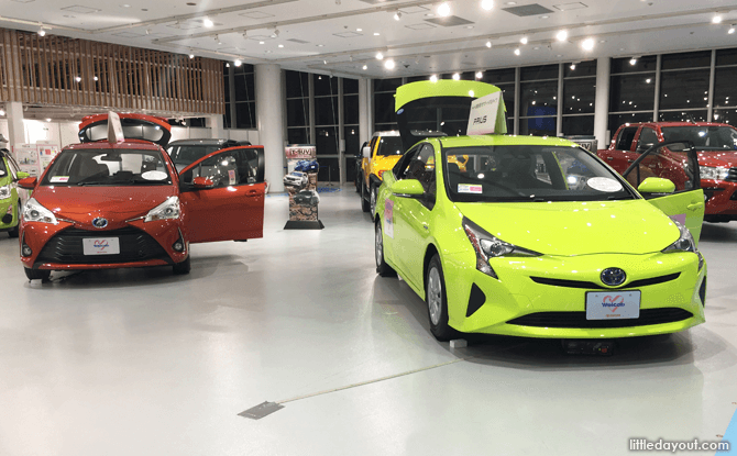 Toyota City Showcase - Line Up Zone
