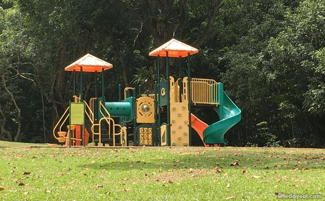 Children's Playground at Lower Peirce Reservoir Park