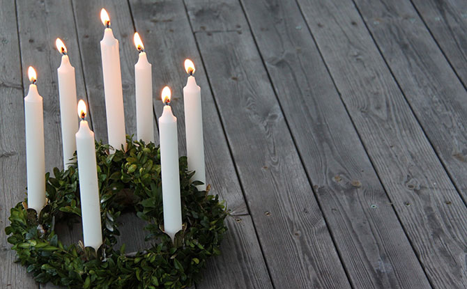 Lucia Candles